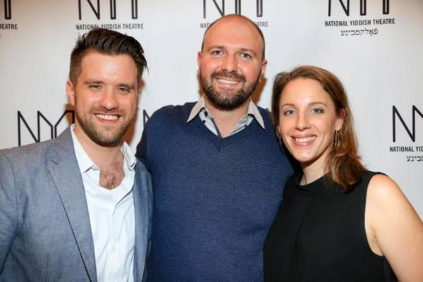 Andy Truschinski, NYTF CEO Chris Massimine, and Jessie Mueller