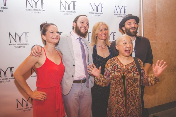 Lori Tan Chinn with Jennifer Babiak, Michael Yashinsky, Merete Muenter, Daniel Kahn Photo