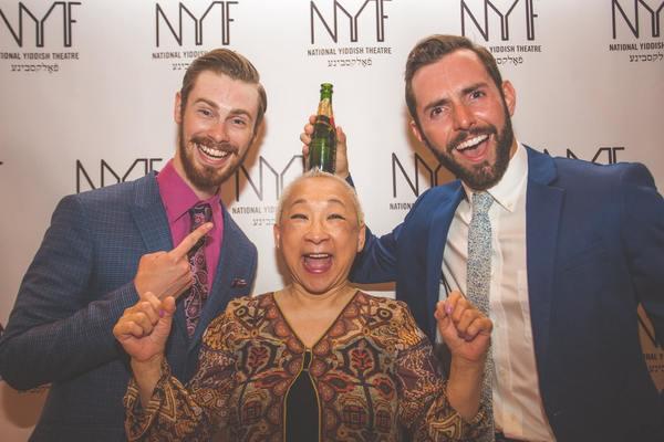 Nick Raynor, Lori Tan China, and Evan Mayer