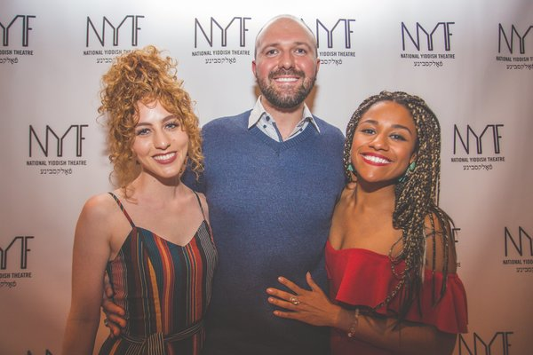 Lauren Renahan, NYTF CEO Chris Massimine, and Ariana DeBose