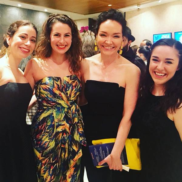 Stephanie Lynne Mason, Rachel Zatcoff, Katrina Lenk, and Rosie Jo Neddy Photo