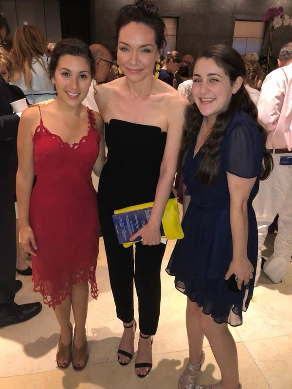 Raquel Nobile, Katrina Lenk, and Samantha Hahn