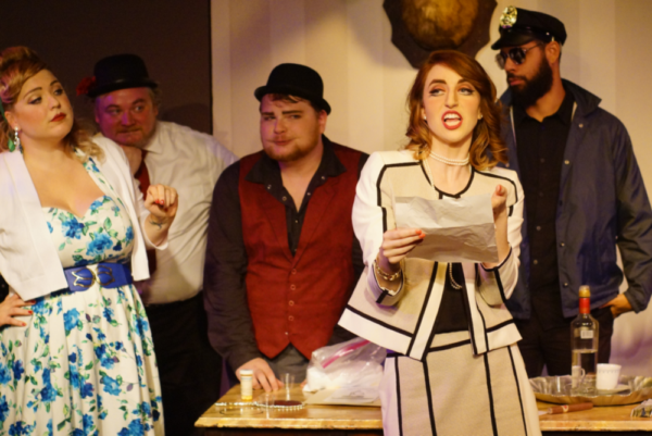 Photo Flash: First Look at THE INSPECTOR GENERAL at Throughline Theatre