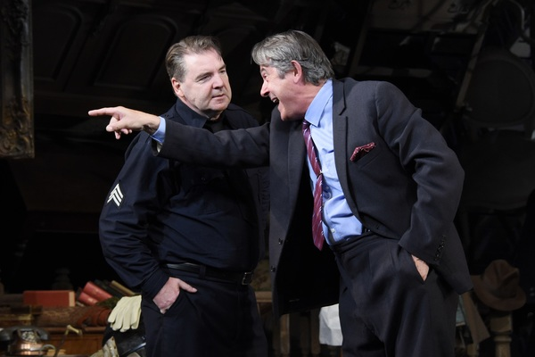 Adrian Lukis and Brendan Coyle Photo