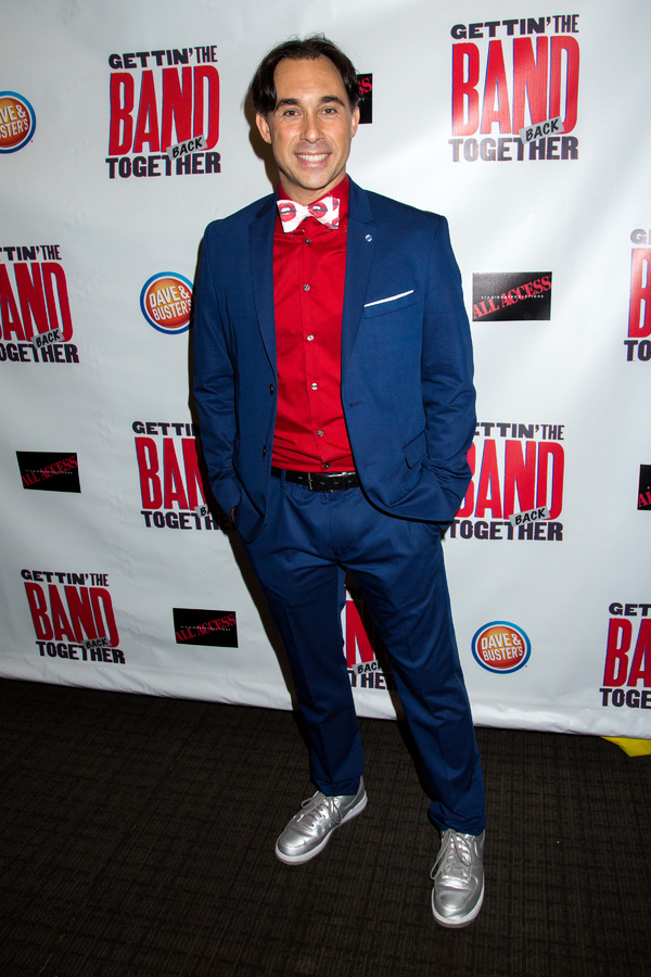 Photo Coverage: GETTIN' THE BAND BACK TOGETHER Celebrates a Rockin' Opening Night!