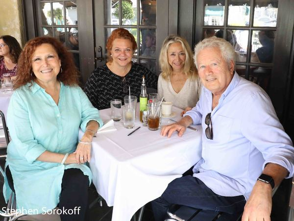 Melissa Manchester, Lenox, MA. Susan Holder, Eda Sorokoff, Stephen Sorokoff