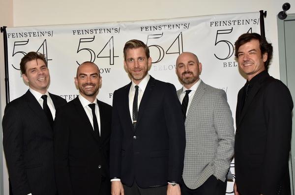 Matthew Rybicki, James Olmsted, Benjamin Eakeley, Michael Sailors and Eric Poland