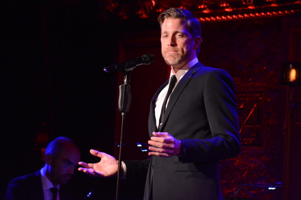 Photo Coverage: Benjamin Eakeley Returns to 54 Below
