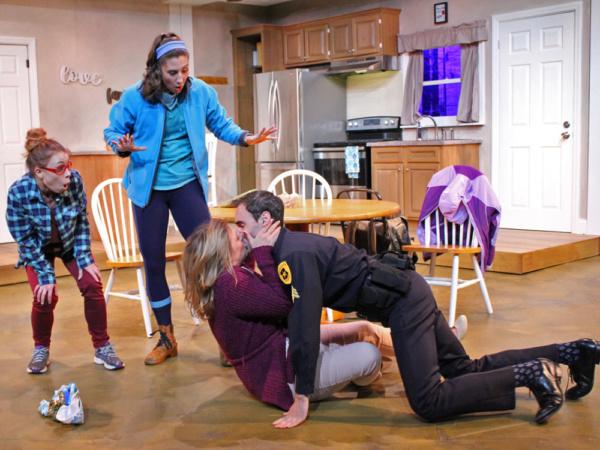 Charlie Jhaye as Mary, Stefanie Londino as Jo, Rebecca Mason-Wygal as Liz and Nichola Photo