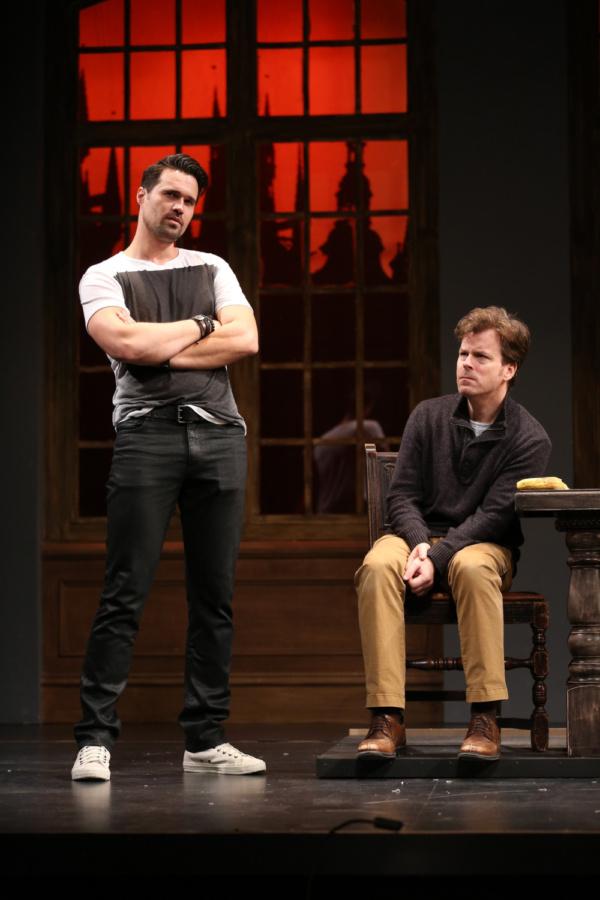 Brett Dalton as Jake and Eric Bryant as Harry
