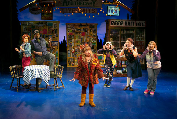 Christina Tompkins, Brooke Singer, and Heather Jane Rolff in Grumpy Old Men the Music Photo