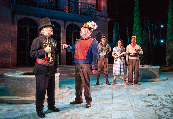 Theater review: 'Much Ado About Nothing' at the Old Globe ...