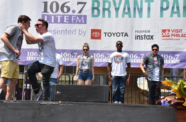 Photo Coverage: The Cast of BE MORE CHILL and More Perform at Broadway in Bryant Park