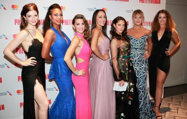 Jesse Wildman Foster, Lauren Lim Jackson, Renee Marino, Jennifer Sanchez, Jillian Mueller, Jessica Crouch and Anna Eilinsfeld