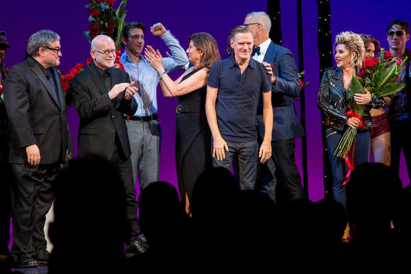 JF Lawton, Jim Vallance, Andy Karl, Paula Wagner, Brian Adams, Jerry Mitchell, Orfeh
