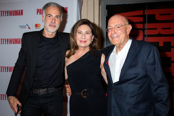 Rick Nicita, Paula Wagner, Arnon Milchan Photo