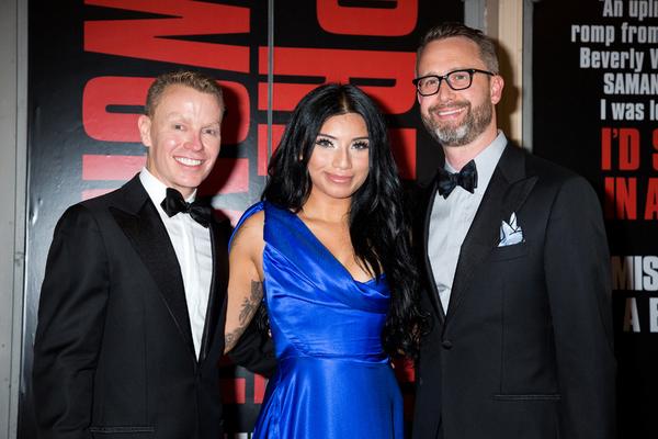 Kirstin Maldonado and guests