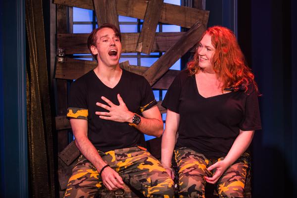 Matt Loehr and Katie Thompson