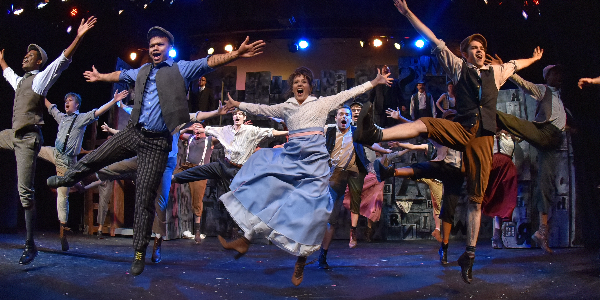 BWW Review: NEWSIES Makes Headlines for Start of Circle Players' 69th Season