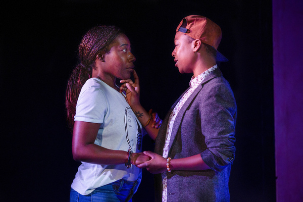Alfie Fuller (Noxolo) and Samira Wiley (Pretty Mbane)
