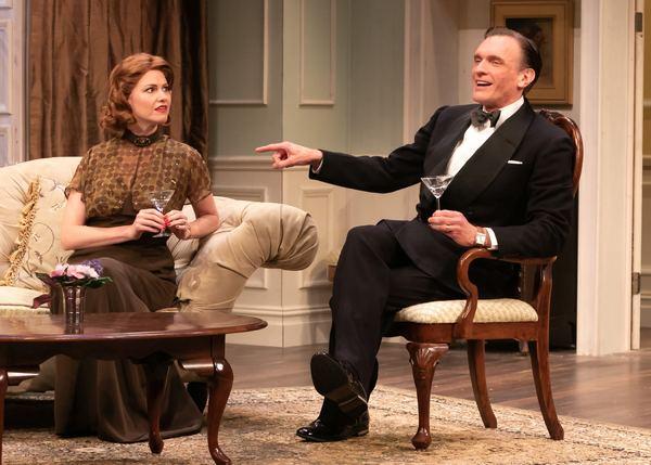 Kate MacCluggage as Ruth and Brent Harris as Charles