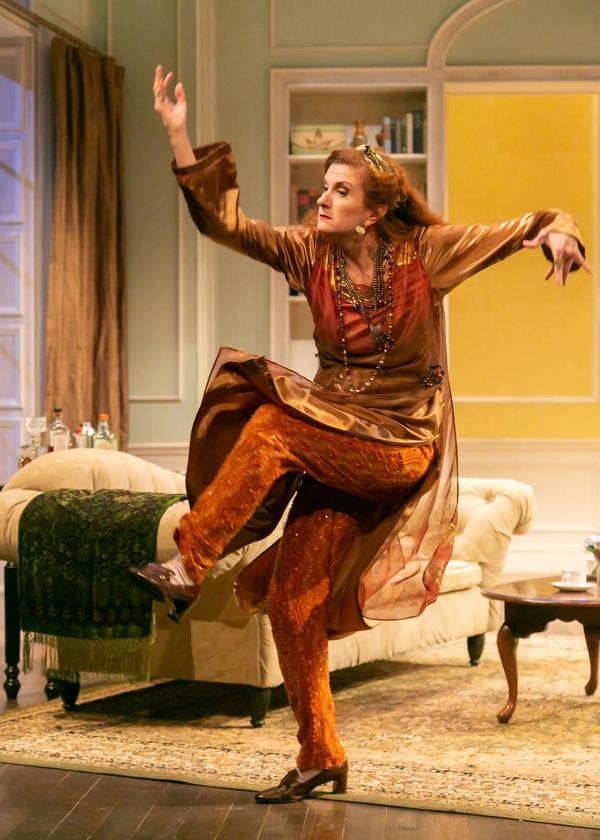 Tina Stafford as Madame Arcati Photo