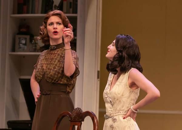 Kate MacCluggage as Ruth and Susan Maris as Elvira
