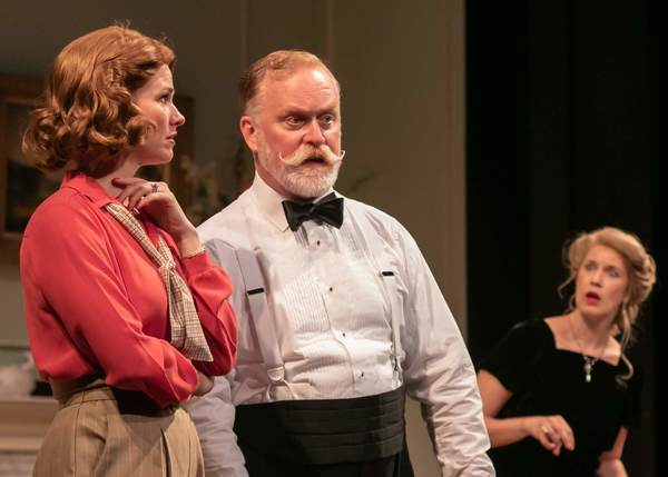 Kate MacCluggage as Ruth, Ames Adamson as Mr. Bradman, and Monette Magrath as Mrs. Bradman