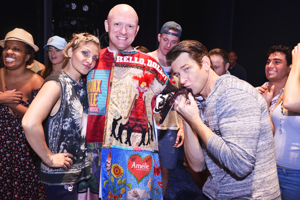 Orfeh, Matthew Stocke, and Andy Karl