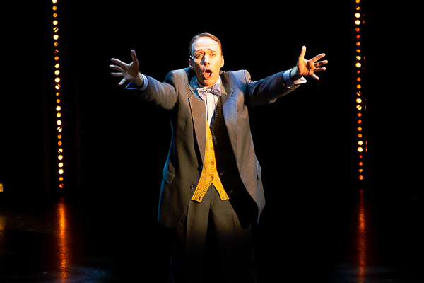 Kevin Loreque as Amos Hart in CHICAGO at Theatre By The Sea thru September 9. Photos  Photo