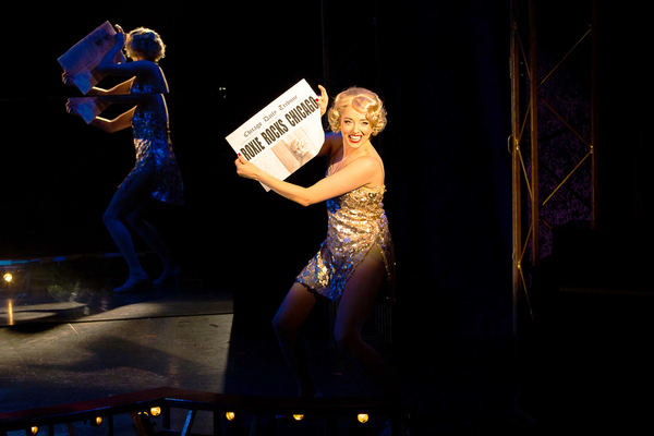 Jessica Wockenfuss as Roxie Hart in CHICAGO at Theatre By The Sea thru September 9. Photos by Steven Richard Photography.