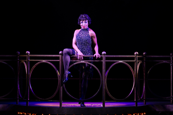 Michelle Alves as Velma Kelly in CHICAGO at Theatre By The Sea thru September 9. Photos by Steven Richard Photography.