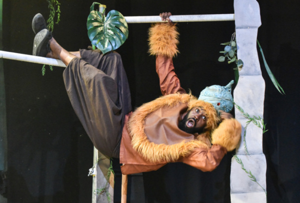 Joseph Black as The Monkey King in The Jungle Book at Greenwich Theatre Photo