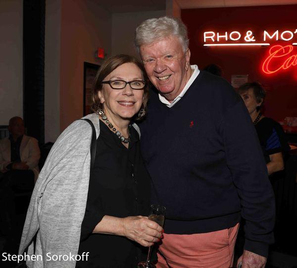 Julianne Boyd & Dick Robinson Photo