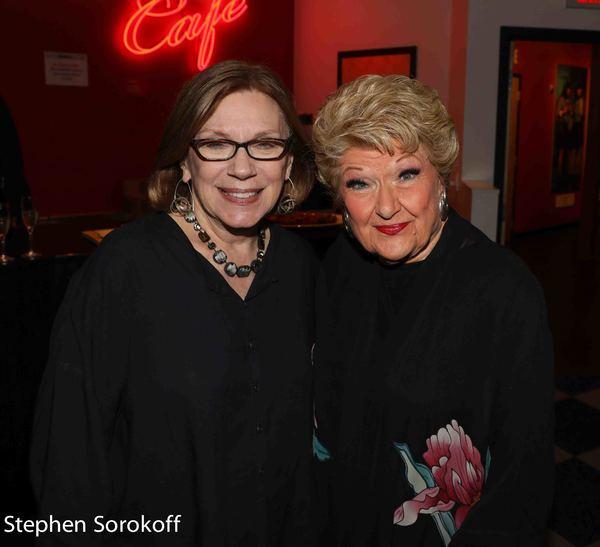 Julianne Boyd, Artistic Director BSC & Marilyn Maye Photo