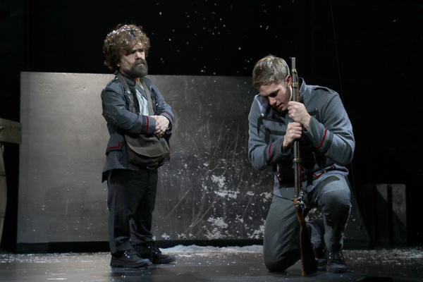 Peter Dinklage and Blake Jenner in Goodspeed Musicals' Cyrano