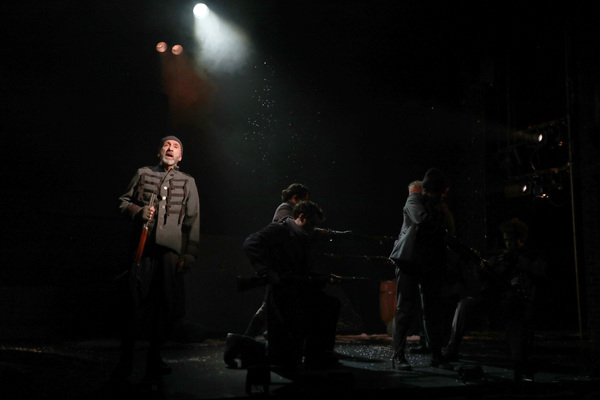 Patrick Kerr and the Goodspeed Musicals' cast of Cyrano