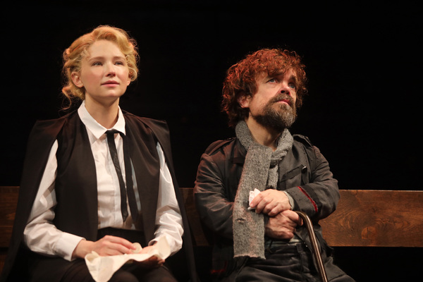 Haley Bennett and Peter Dinklage in Goodspeed Musicals' Cyrano