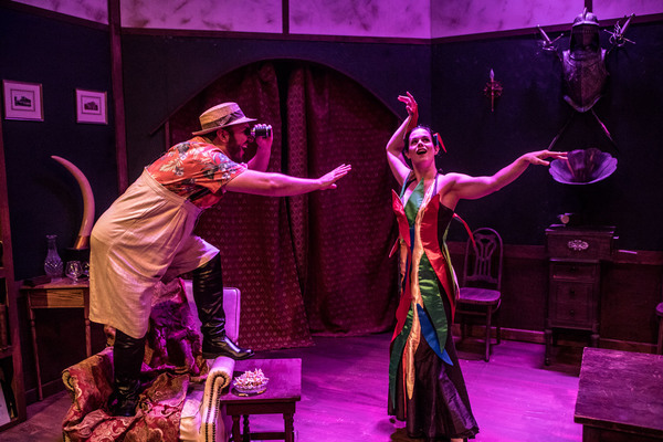 Photo Flash: First Look at NIGHTMARES & NIGHTCAPS: The Stories of John Collier