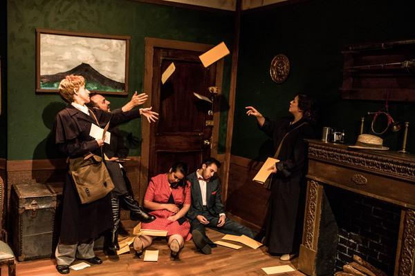 Ellen DeSitter, Shane Roberie, Maiko Terazawa, Joshua Servantez and Megan DeLay Photo