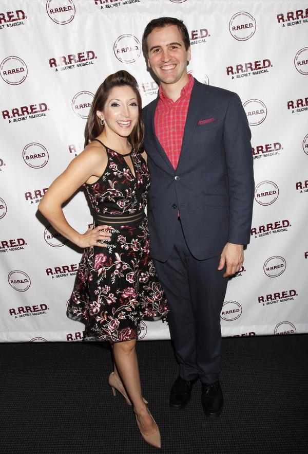 Christina Bianco and Andy Sandberg