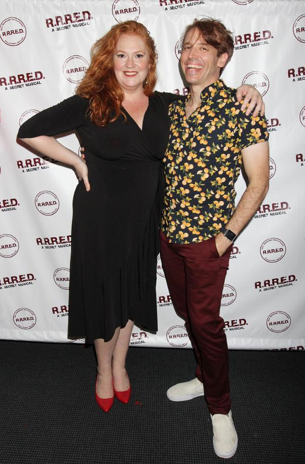 Katie Thompson and Matt Loehr  Photo