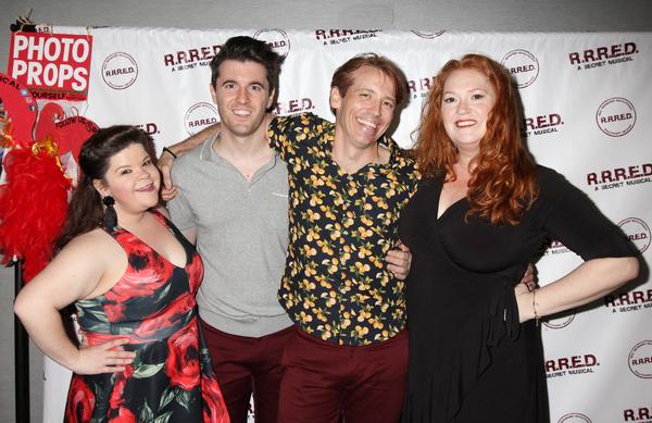 Marissa Rosen, Kevin Zak, Matt Loehr, and Katie Thompson