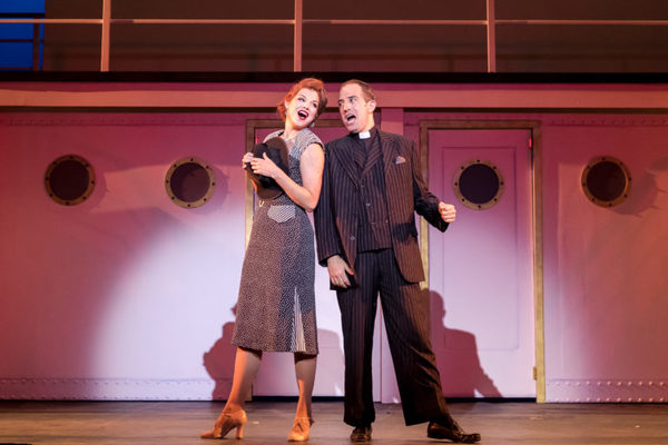 Erica Evans (Reno Sweeney) and Brian Zane (Moonface Martin)