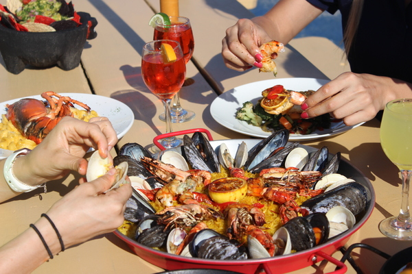 SURF CITY in Jersey City is Serving 10 New Paella Dishes through 8/26