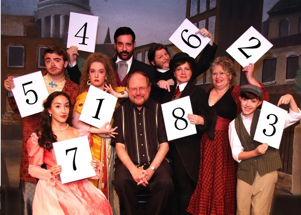 Drood Cast with Rupert Holmes (photos by Barbara & Steve Mintz)