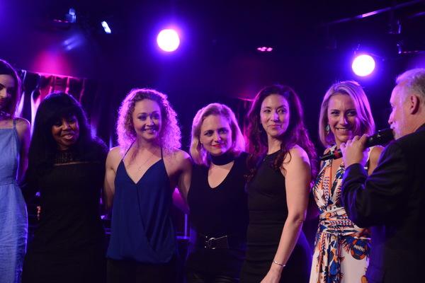 Sharon Catherine Brown, Devon Hadsell, Hayley Swindal, Rebecca Pitcher and Erica Mansfield