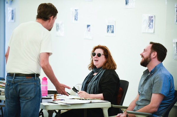 Dylan Baker,Theresa Rebeck and Moritz von Stuelpnagel