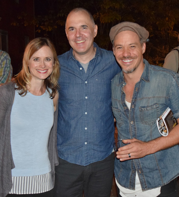 Rebecca Brooksher, David Auburn and Michael Raymond-James Photo