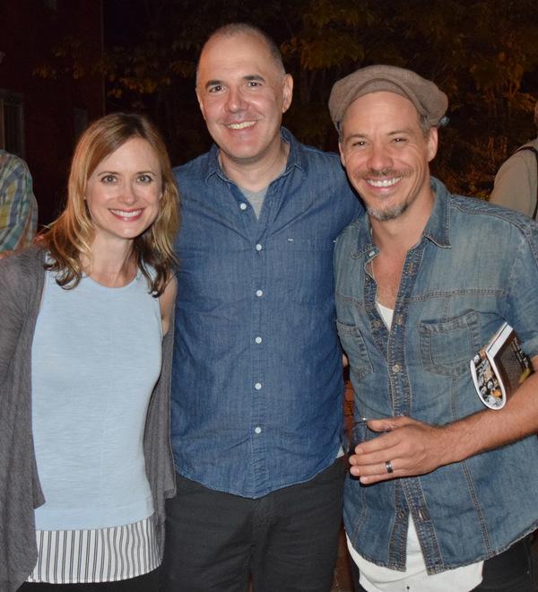 Rebecca Brooksher, David Auburn and Michael Raymond-James